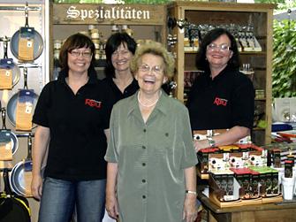 Monika Rau-Wiegand, Christiane Rau, Johanna Rau, Ingeborg Kude